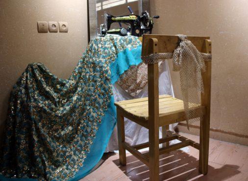برپایی نمایشگاه پارچه و لباس ایرانی اسلامی در نگارخانه فرهنگ رفسنجان / تصاویر