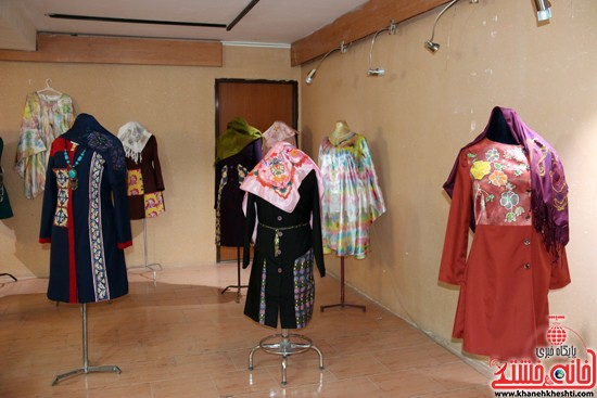 نمایشگاه تخصصی پارچه و لباس دانشگاه مفاخر رفسنجان