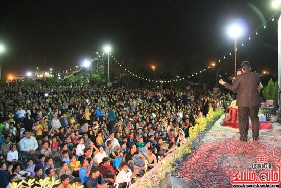 جشن بزرگ نیمه شعبان در شهربازی رفسنجان