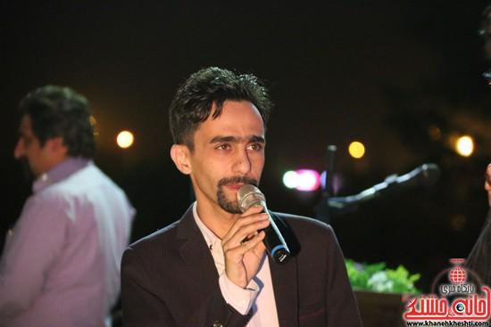 هنر نمایی مهدی حشمتی (اقای خط - مستر لاین) در جشن بزرگ نیمه شعبان در رفسنجان