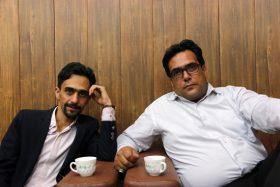 مهدی حشمتی (اقای خط - مستر لاین) و منصور محمد حسنی(مهندس)