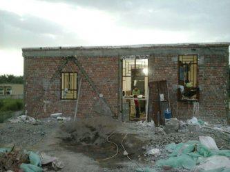 ساخت جامعه القرآن روستای خضرآباد عنبرآباد به همت جهادگراننوق رفسنجان