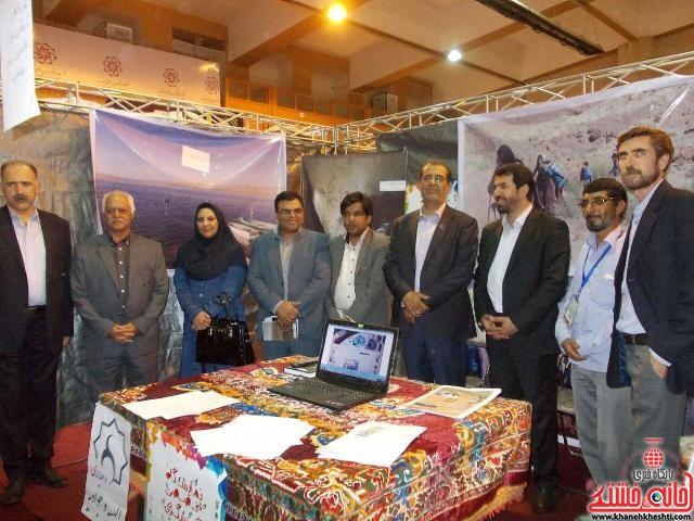 بازدید فرماندار رفسنجان از نمایشگاه تخصصی گردشگری و صنایع دستی استان کرمان