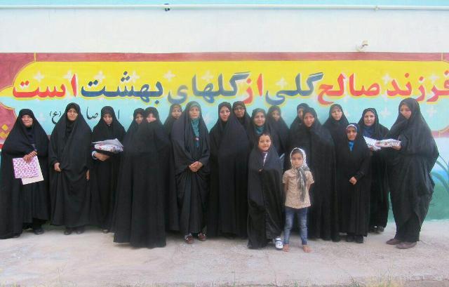 تجلیل از مربیان و خیرین پشتیبان موسسه جامعه القران کریم و اهل البیت نوق شعبه ۲ / تصاویر