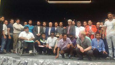 مسابقات مچاندازی معلولین در رفسنجان برگزار شد / عکس