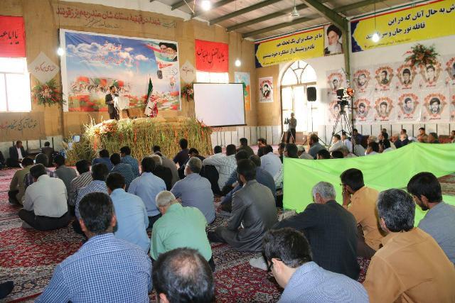 تصاویر اولین روز از یادواره ۸۲ شهید منطقه مصطفی خمینی رفسنجان