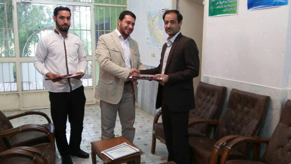 تقدیر اتحادیه انجمن های اسلامی دانش آموزان رفسنجان از معلمین