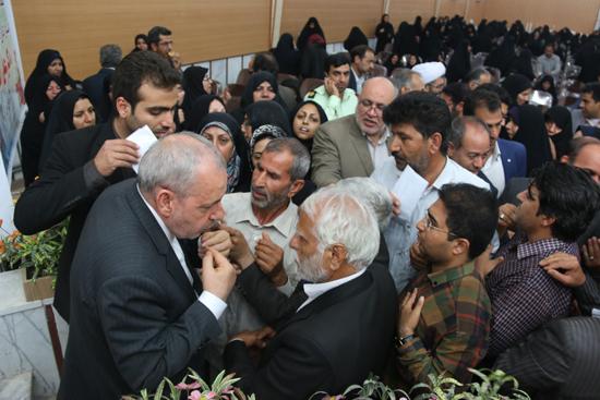 گلایه ها و مشکلات فرهنگیان رفسنجان مطرح شد / تصاویر