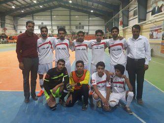تصاویر / آغاز مسابقات فوتسال جام رمضان در شهر بهرمان