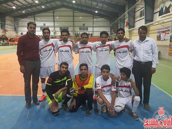 آغاز مسابقات فوتسال جام رمضان در شهر بهرمان (۱)