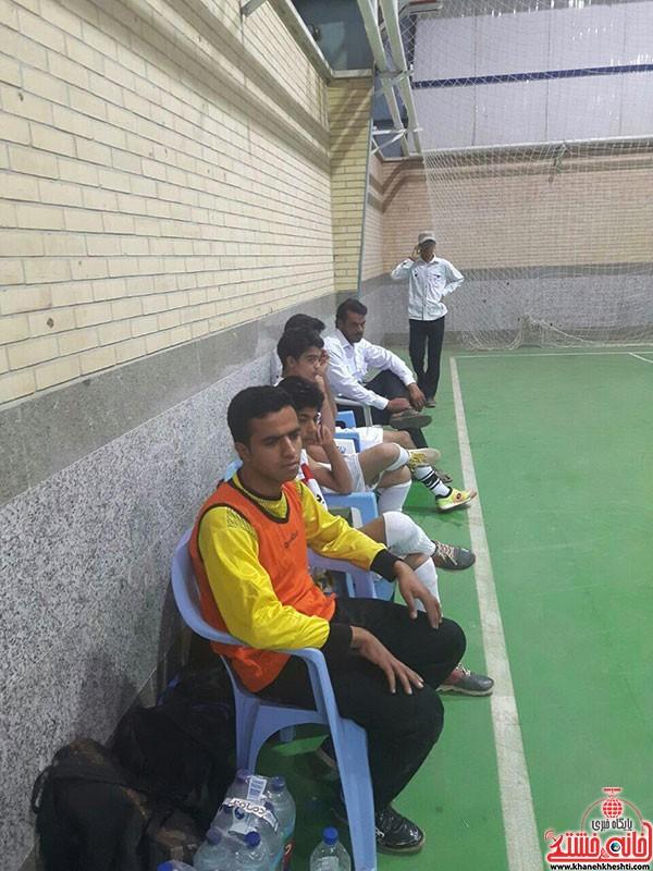 آغاز مسابقات فوتسال جام رمضان در شهر بهرمان (۲)