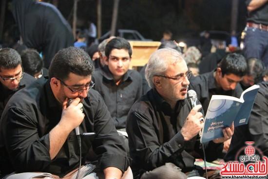 مراسم احیای شب 21ماه مبارک رمضان با حضور مردم مومن و خداجوی درآستان قدس رضویشهرستان رفسنجان