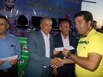 مراسم اهدای جوایز جام ملت نوق در جوادیه فلاح برگزار شد / عکس