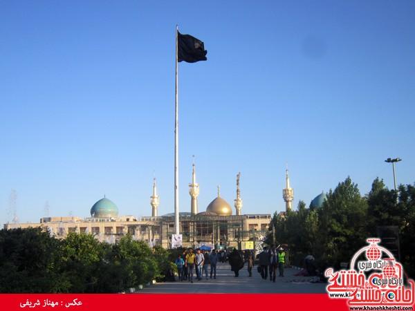 کاروان مرقد امام خمینی (ره) رفسنجان-خانه خشتی (۱)