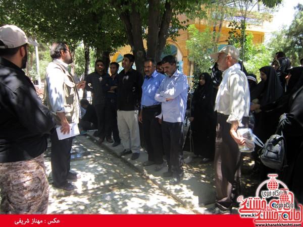 کاروان مرقد امام خمینی (ره) رفسنجان-خانه خشتی (۳)