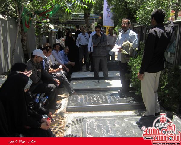 کاروان مرقد امام خمینی (ره) رفسنجان-خانه خشتی (۴)
