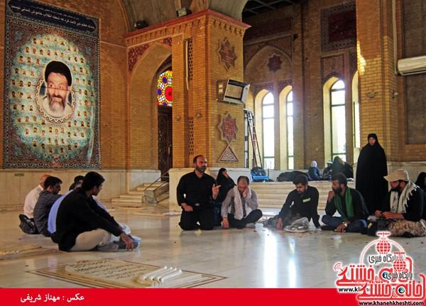 کاروان مرقد امام خمینی (ره) رفسنجان-خانه خشتی (۸)