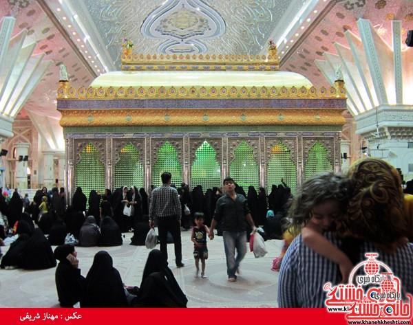 کاروان مرقد امام خمینی (ره) رفسنجان-خانه خشتی (۹)