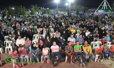 جشن میلاد امام حسن مجتبی (ع) در شهربازی رفسنجان برپا شد + عکس