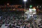 تصاویر مراسم احیای سومین شب قدر در سقاخانه دوراهی سرچشمه رفسنجان
