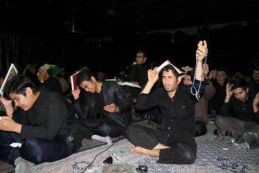 تصاویر مراسم احیای شب و بیست و سوم در حسینیه ثارالله رفسنجان
