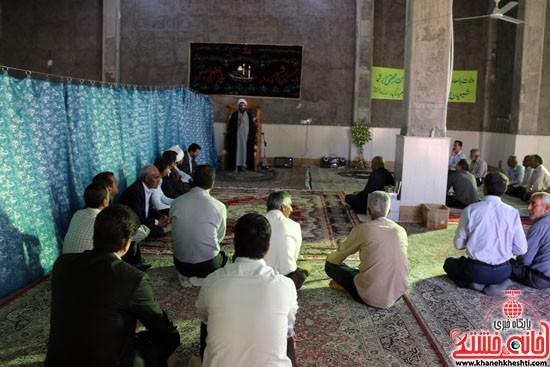 افتتاح مسجد امام حسن مجتبی(ع) در خیابان مصطفی خمینی (انتهای کوچه مصطفی خمینی 45)
