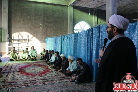 سخنرانی امام جمعه در افتتاح مسجد امام حسن مجتبی(ع) در خیابان مصطفی خمینی (انتهای کوچه مصطفی خمینی 45)