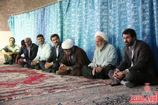 افتتاح مسجد امام حسن(ع) برای مردم محله مصطفی خمینی رفسنجان / تصاویر