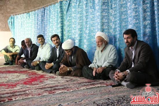 حضور فرماندار در افتتاح مسجد امام حسن مجتبی(ع) در خیابان مصطفی خمینی (انتهای کوچه مصطفی خمینی 45)