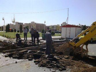 سازمان پارک ها و فضای سبز شهرداری رفسنجان پیشگام در مقابله با بحران کمبود آب