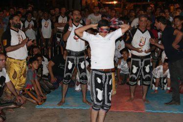 جشن بزرگداشت آیین فرهنگ پهلوانی و ورزش زورخانه ای در پارک جوان
