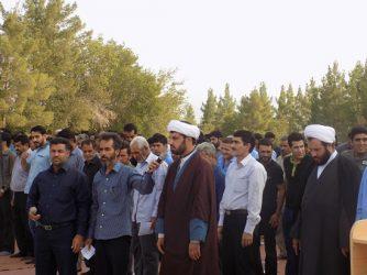 برگزاری نماز عید سعید فطر در امامزاده سید جلاالدین اشرف/تصاویر