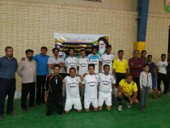 جام رمضان حمید آباد رفسنجان با قهرمانی تیم تغلیظ مس به پایان رسید / تصاویر