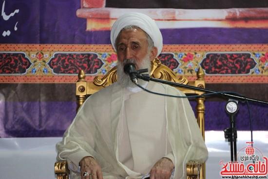 آیت الله صدیقی در مراسم وداع با ماه مبارک رمضان مسجد جامع رفسنجان