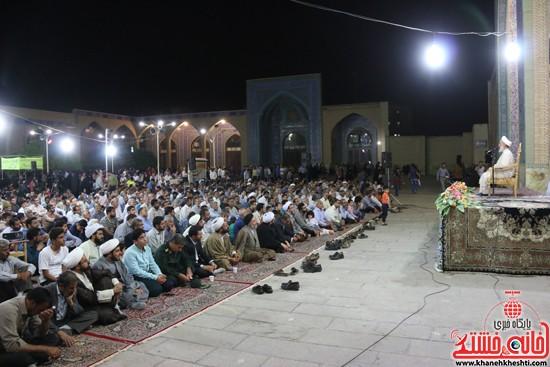 سخنرانی خطیب موقت نماز جمعه تهران آیتالله صدیقی در مراسم وداع با ماه مبارک رمضان در مسجد جامع رفسنجان