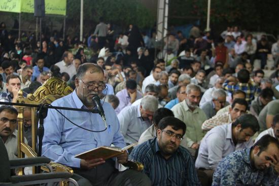 مراسم وداع با ماه مبارک رمضان در رفسنجان برگزار شد / تصاویر