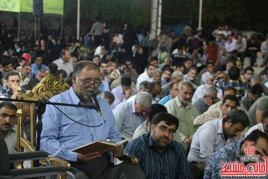 مداحی علی مدد در مراسم وداع با ماه مبارک رمضان در مسجد جامع رفسنجان