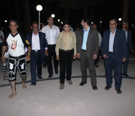 اختصاص یک قطعه زمین  توسط شهرداری رفسنجان برای احداث زورخانه