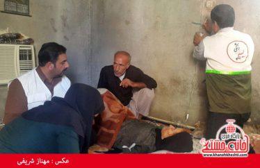 تصاویر حضور دانشجویان جهادگر رفسنجان در منطقه فاریاب