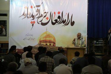 همایش بزرگ مدافعان حرم در رفسنجان برگزار شد