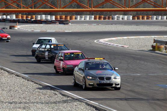 موفقیت اتومبیلرانان رفسنجانی در مسابقات اتومبیلرانی اسلالوم قهرمانی کشور