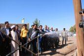 افتتاح طرح آبخیز داری منابع طبیعی روستای احمد باد دئفه کشکوئیه