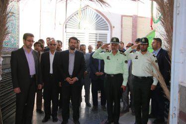 تجدید پیمان دولتی های رفسنجان با شهداء
