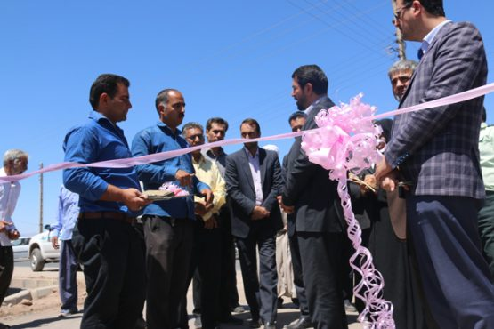 افتتاح هفت پروژه عمرانی در رفسنجان با اعتبار ۲۶ میلیارد ریال در سومین روز از هفته دولت