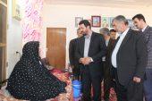 دیدار فرماندار رفسنجان با خانواده شهیدان حسینی در روستای لاهیجان