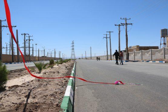 افتتاح طرح های عمرانی بخش کشکوئیه