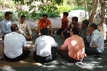 حلقه صالحین پایگاه مقداد شهرداری رفسنجان در منطقه دره در تشکیل شد