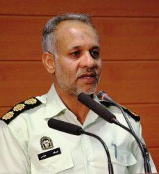 گله مندی فرمانده انتظامی رفسنجان از مسئولین شهرستان