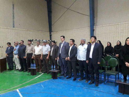 تیم منتخب والیبال بانوان هیات ورزش روستایی و بازیهای بومی و محلی رفسنجان ،قهرمان استان کرمان شد