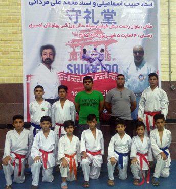 موفقیت تیم کاراته باشگاه استاد رحمانیان رفسنجان در مسابقات سبکی قهرمانی کشور در شیراز